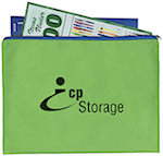 Non Woven Document Sleeves With Zipper Bags
